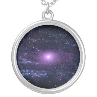 Ultravioleta del Andromeda Pendientes Personalizados