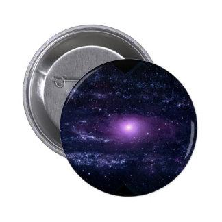 Ultravioleta del Andromeda Pin Redondo De 2 Pulgadas