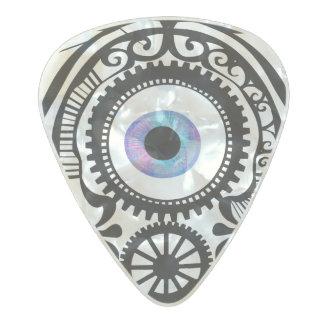 Ultravioleta del caramelo del ojo plectro de celuloide nacar