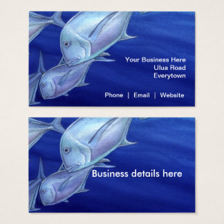 Ulua (Giant Trevally) Business Card