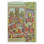 Ulugh Beg  dispensing justice at Khurasan Cards