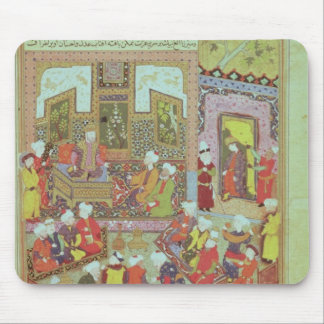 Ulugh Beg  dispensing justice at Khurasan Mouse Pad