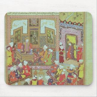 Ulugh Beg  dispensing justice at Khurasan Mouse Pad