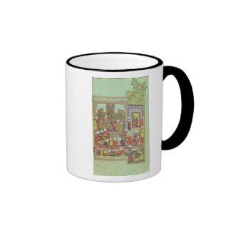 Ulugh Beg  dispensing justice at Khurasan Coffee Mugs