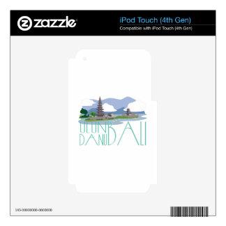 Ulun Danu Bali Skins Para iPod Touch 4G