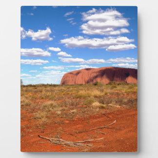 Uluru 2 photo plaque