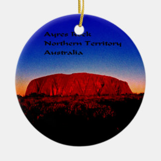 Uluru, Aboriginal Sacred Site Ceramic Ornament