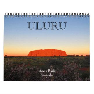 uluru australia 2018 calendar