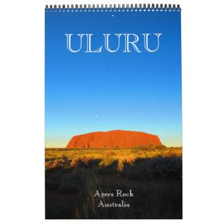 uluru australia calendar