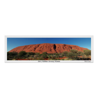 Uluru, Australia Poster