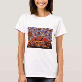 Uluru - Authentic Aboriginal Art T-Shirt