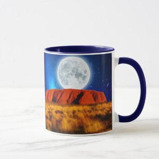 ULURU Ayer's Rock Australian Outback Art Mug