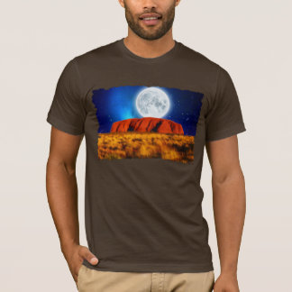 Uluru Ayer's Rock Australian Outback Art Shirt