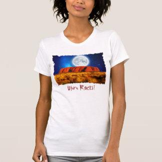 Uluru Ayer's Rock Fun Australian Outback Art Shirt