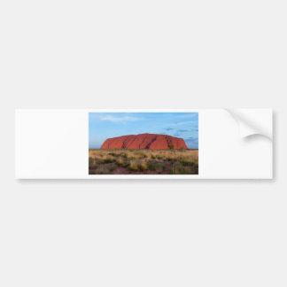 Uluru Bumper Sticker