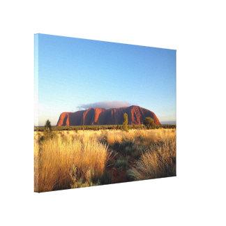 Uluru canvas print
