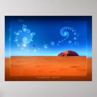 Uluru mágico posters