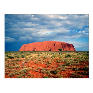 Uluru or Ayers Rock - Australia Postcard