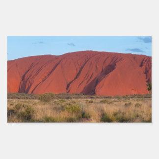 Uluru Rectangular Sticker