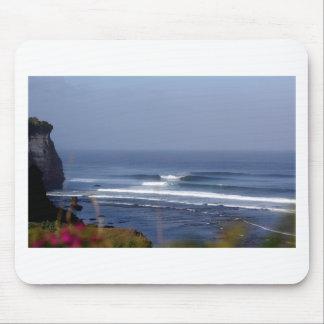Uluwatu Bali famous surfing wave Mouse Pad