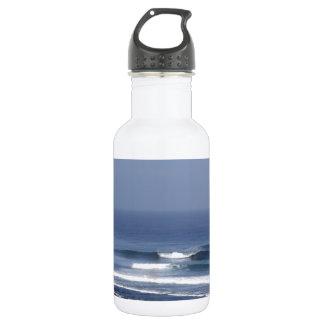 Uluwatu Bali famous surfing wave Water Bottle