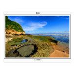 Uluwatu beach postcard