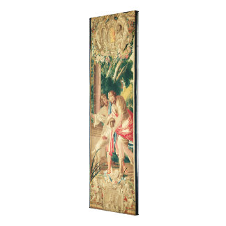 Ulysses accompanied by Telemachus Canvas Print