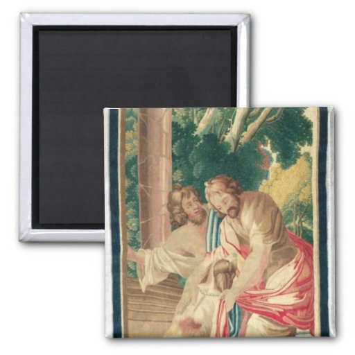 Ulysses accompanied by Telemachus Refrigerator Magnet