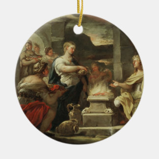 Ulysses and Calypso Ornaments