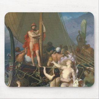 Ulysses and the Sirens 2 Mouse Pad