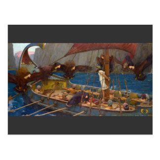 Ulysses and the Sirens by J.W. Waterhouse Post Cards