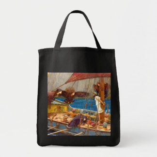 Ulysses and the Sirens by J. W. Waterhouse Tote Bag