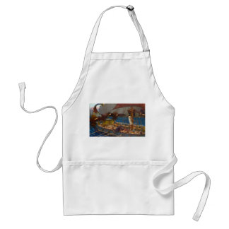 Ulysses and the Sirens by John William Waterhouse Aprons