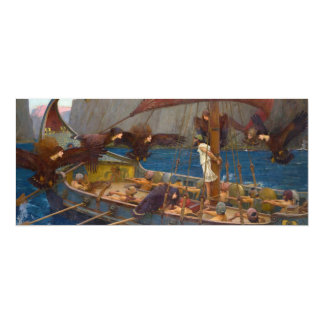 Ulysses and the Sirens by John William Waterhouse Card