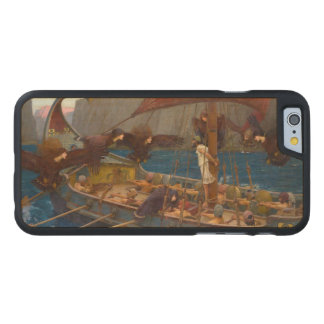 Ulysses and the Sirens by John William Waterhouse Carved® Maple iPhone 6 Case