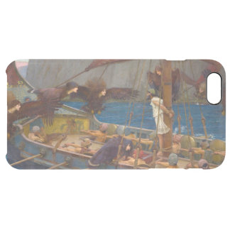 Ulysses and the Sirens by John William Waterhouse Clear iPhone 6 Plus Case