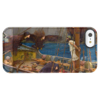 Ulysses and the Sirens by John William Waterhouse Clear iPhone SE/5/5s Case