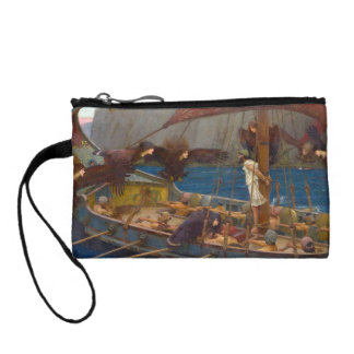 Ulysses and the Sirens by John William Waterhouse Coin Purse