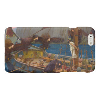 Ulysses and the Sirens by John William Waterhouse Glossy iPhone 6 Case