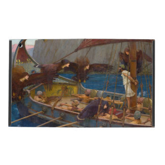 Ulysses and the Sirens by John William Waterhouse iPad Covers