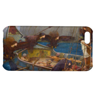 Ulysses and the Sirens by John William Waterhouse iPhone 5C Cases