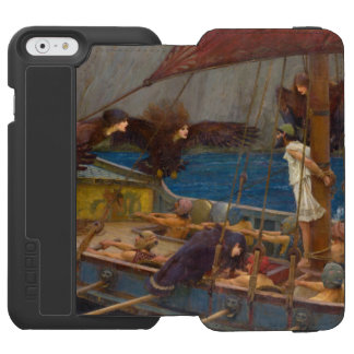 Ulysses and the Sirens by John William Waterhouse iPhone 6/6s Wallet Case
