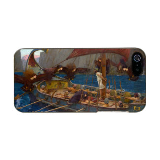 Ulysses and the Sirens by John William Waterhouse Metallic Phone Case For iPhone SE/5/5s