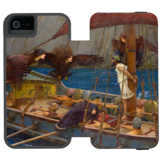Ulysses and the Sirens by John William Waterhouse Wallet Case For iPhone SE/5/5s
