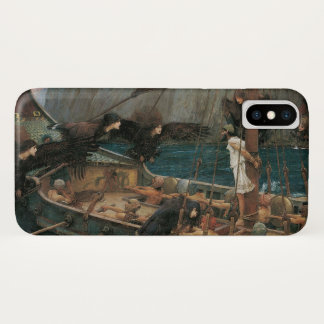 Ulysses and the Sirens by JW Waterhouse iPhone X Case