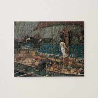 Ulysses and the Sirens by JW Waterhouse Jigsaw Puzzle
