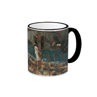 Ulysses and the Sirens by JW Waterhouse Mugs