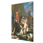 Ulysses and the Sirens Canvas Print
