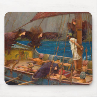 Ulysses and the Sirens Mouse Pad