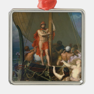 Ulysses and the Sirens Christmas Ornaments